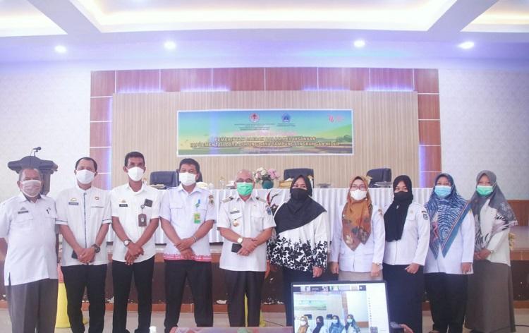 Bimbingan Teknis dan Fasilitasi Pemerintah Daerah (Pemda), di Gedung Balai Kartini Bantaeng, Rabu (22/09/2021). Foto: Dokumentasi Istimewa