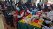 Kolaborasi UMB dan Polres untuk Vaksinasi dan Bagikan Paket Sembako