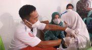 Kebut Vaksinasi Covid-19, Ketua TP PKK Bantaeng Pantau Langsung Pelaksanaan Vaksin Serentak