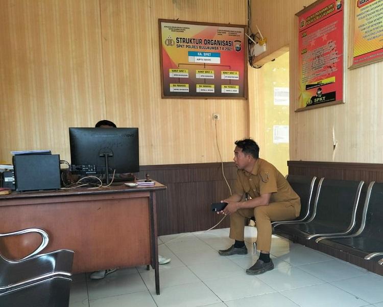 Dugaan Penganiayaan, Kades Benteng Gattareng dan Kadusnya Saling Lapor ke Polisi. Foto: ADI