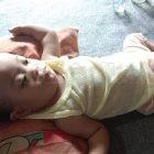 Nurwania (1 th), bayi yang divonis mengalami kebocoran jantung. Foto: Dokumentasi Istimewa