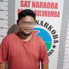 Seorang Terduga Pelaku Narkoba Diringkus Polisi. Foto: Dokumentasi Istimewa