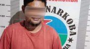 Seorang Terduga Pelaku Narkoba Diringkus Polisi