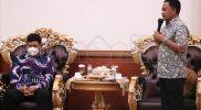 Ramah Tamah dengan Ketua Pengadilan Negeri, Bupati Bantaeng Haturkan Terima Kasih
